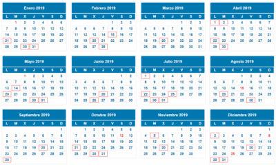 Calendario Fiscal 2019 Autonomos.Noticias Castan Asesores